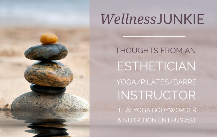 Wellness Junkie: Thoughts from a fitness and nutrition enthusiast